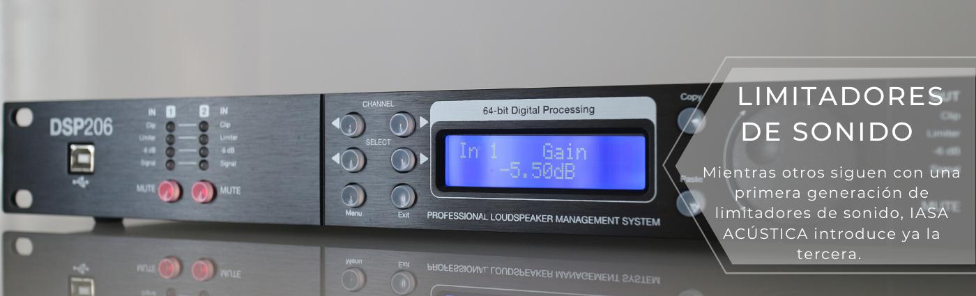 instalación y certificación de limitadores de sonido homologados